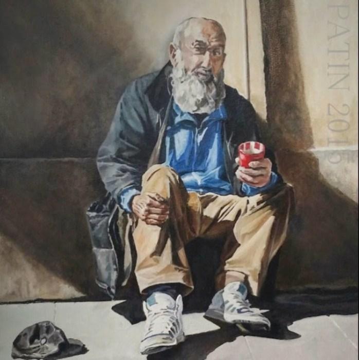 Бездомный. Автор: Gael Patin.