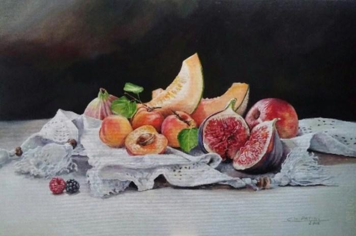 Сочные фрукты. Автор: Gael Patin.