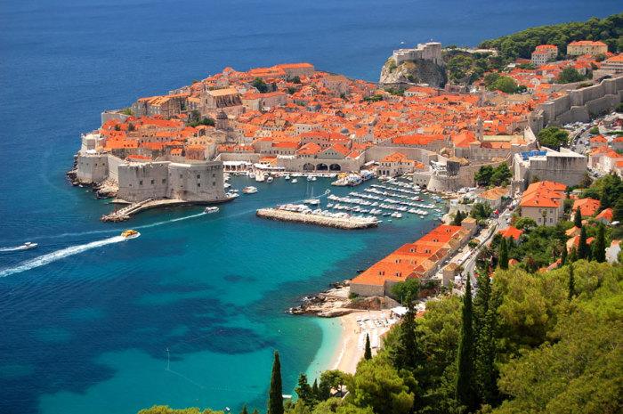 Королевская Гавань: город Дубровник, Хорватия.