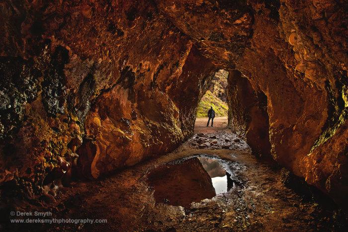 Штормовые земли: пещеры Кушендан Северная Ирландия. Автор фото: Дерек Смит.