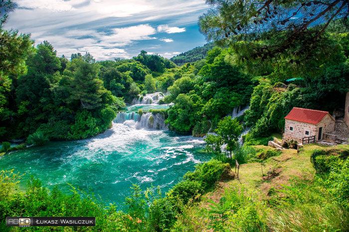 Пейзажи Запада: национальный парк Крка, Хорватия. Автор фото: LucasPhotoPL.