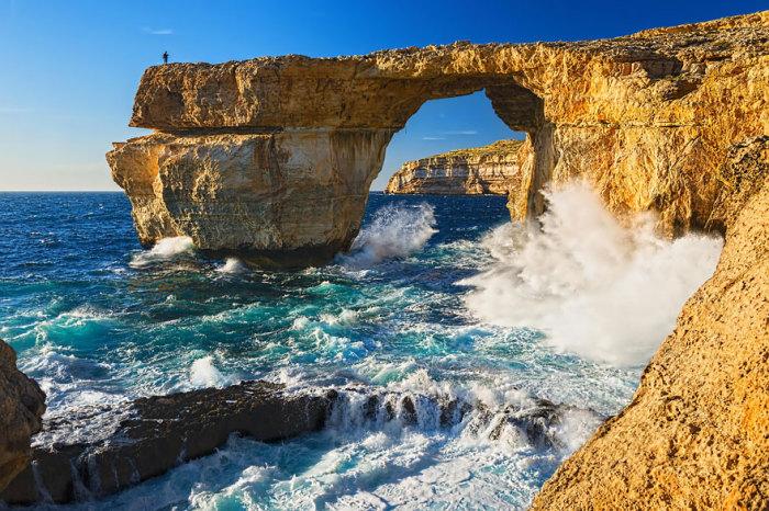 Свадьба Дейенерис и Дрого: Лазурное окно, остров Гозо, Мальта. Автор фото:  Cherry Fog.