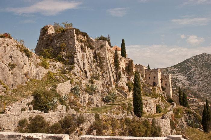 Миэрин: крепость Клис, Хорватия.