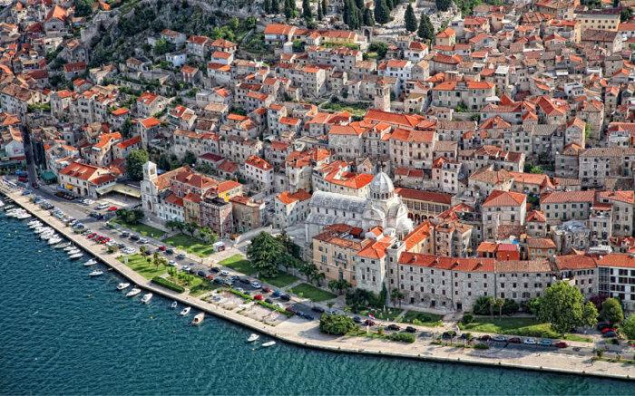 Вольный город Браавос: Шибеник, Хорватия.