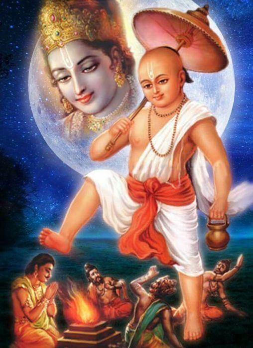 Верховное божество Вишну. \ Фото: pinterest.com.