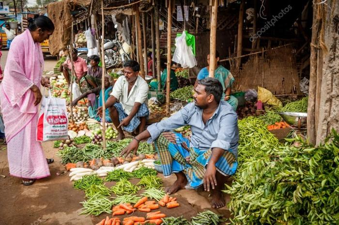 Овощной индийский рынок. \ Фото: google.com.ua.