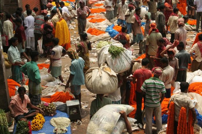 Рынок в Индии. \ Фото: pixy.org.