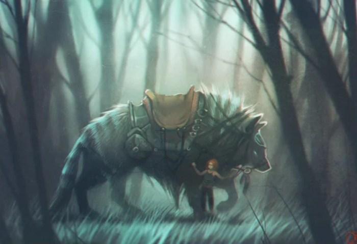 Однажды в сумеречном лесу. Автор: Александра Хитрова.