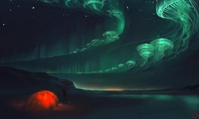 Медузы. Автор: Александра Хитрова.