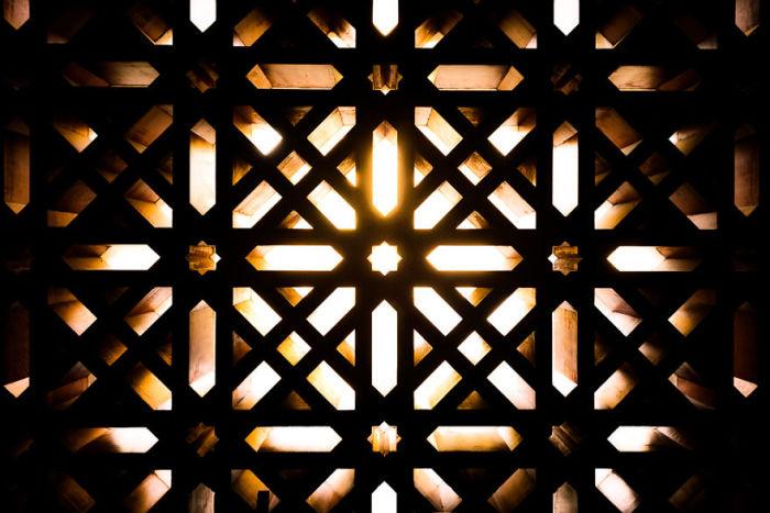 Молельный зал Мескиты представляет собой пять разных зон. Автор: Gauvin Lapetoule.