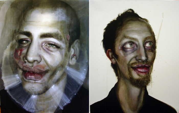 Gavin Nolan - художник, который рисует зомби.