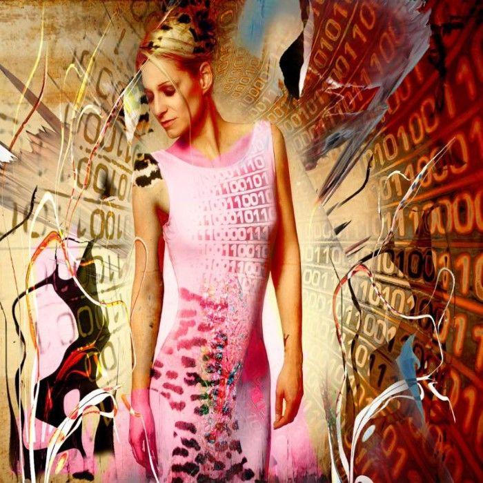 Розовое платье. Автор: Geert Lemmers.