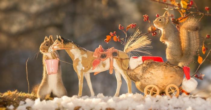 Рождество в пути. Автор: Geert Weggen.