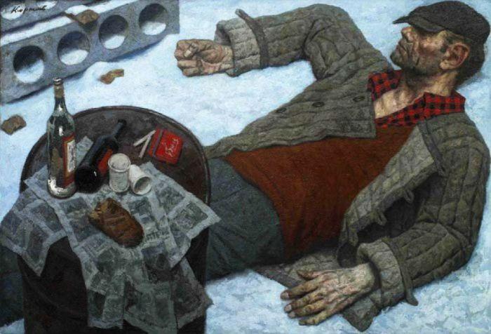 Встань, Иван! 1997 год. Автор: Гелий Коржев.