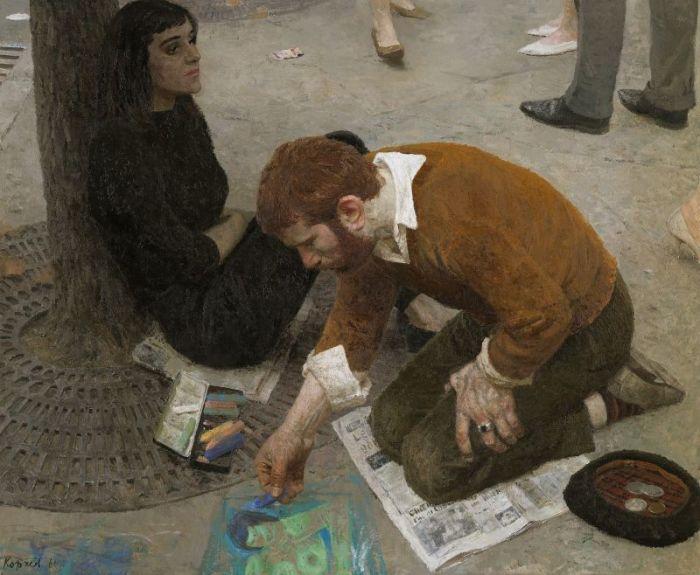 Художник, 1961 год. Автор: Гелий Коржев.