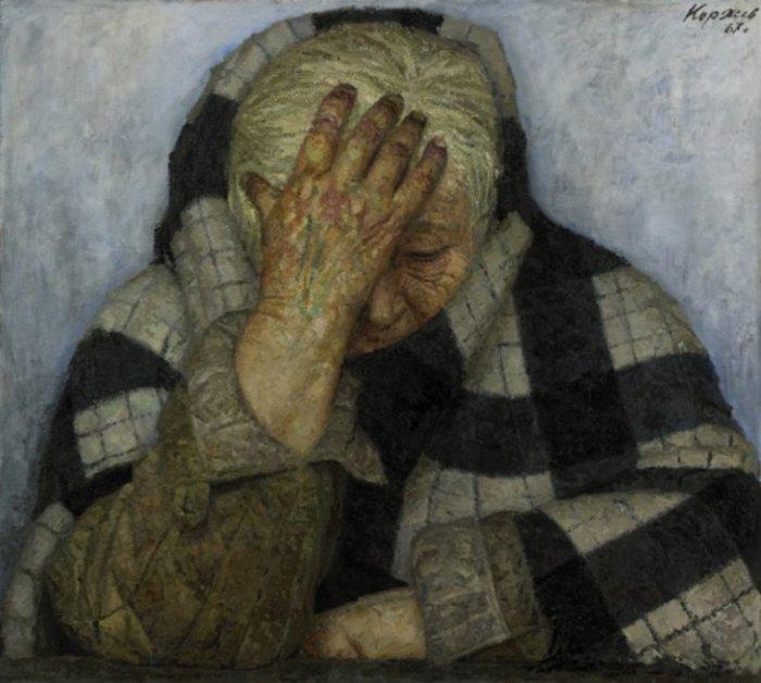 Мать, 1964–1967 гг. Автор: Гелий Коржев.