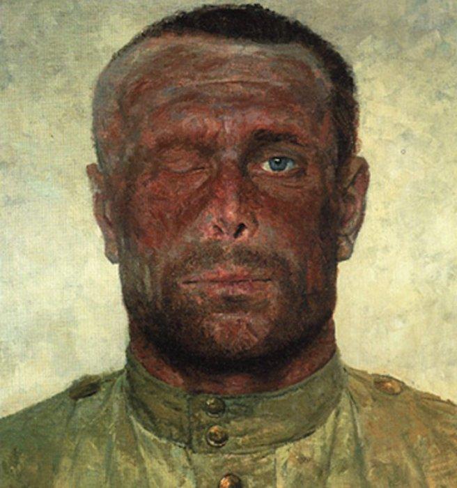 Следы войны, 1963–1965 гг. Автор: Гелий Коржев.
