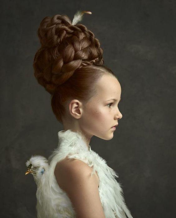Белая птица. Автор: Gemmy Woud-Binnendijk.