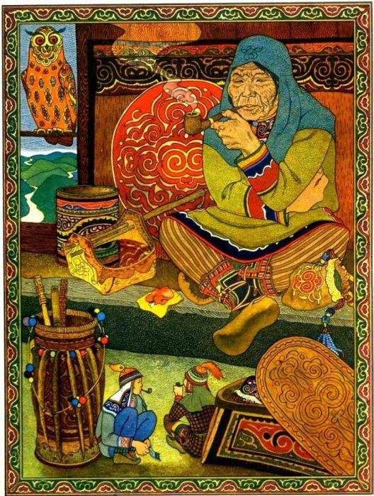 Ещё одна иллюстрация Соболиные души. Автор: Геннадий Павлишин.