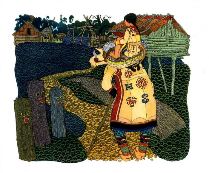 «Амурские сказки»: Уникальные иллюстраций к рассказам о культуре и традициях народов Дальнего Востока