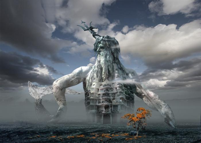Случайные метаморфозы или Король моего замка. Работы художника нео-сюрреалиста Джоржа Грие (Georg Grie).