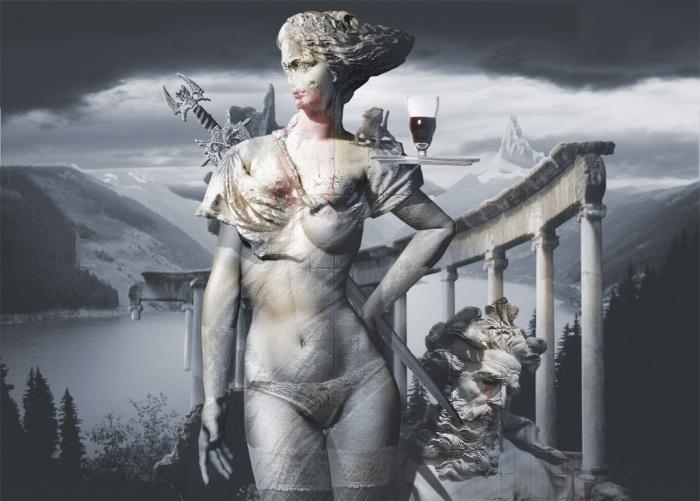 Обман, или Самсон и Далила. Работы художника нео-сюрреалиста Джоржа Грие (Georg Grie).