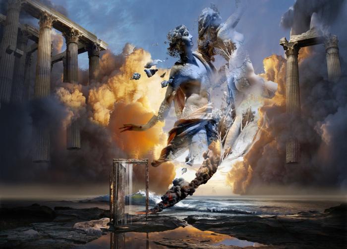 Унесенные ветром, или горести любви. Работы художника нео-сюрреалиста Джоржа Грие (Georg Grie).
