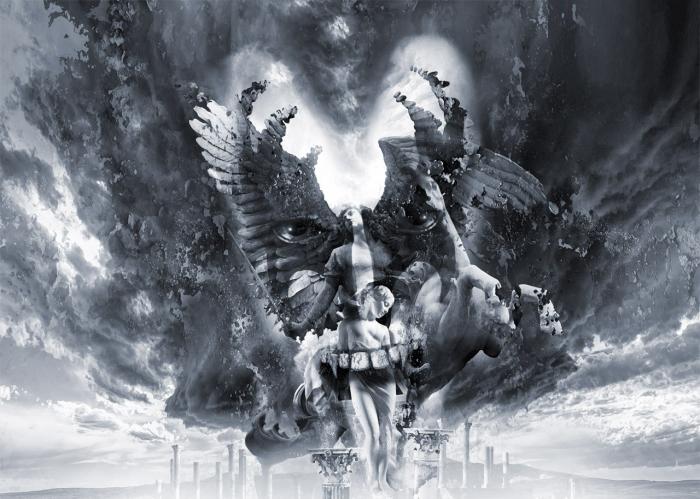 Поцелуй Эроса или Ангелы и Демоны. Работы художника нео-сюрреалиста Джоржа Грие (Georg Grie).