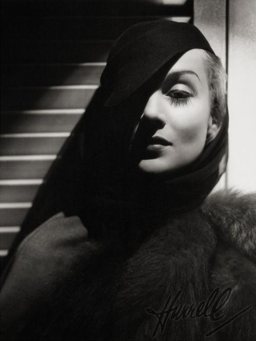 Кэрол Ломбард (Carole Lombard). Автор фото: George Hurell.
