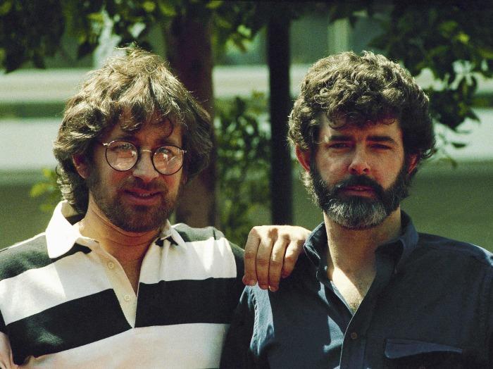 Стивен Спилберг и Джордж Лукас. \ Фото: reddit.com.