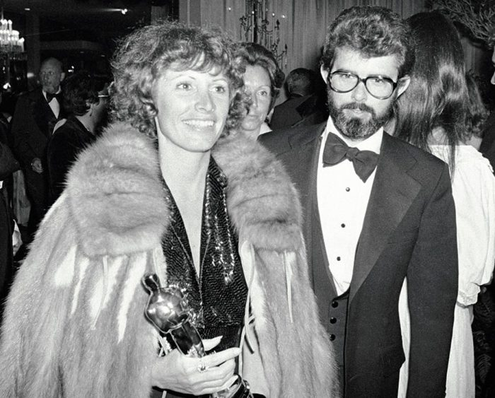 Марсия получила «Оскар» за монтаж «Звёздных войн», Джордж так и остался без премии.\ Фото: google.com.