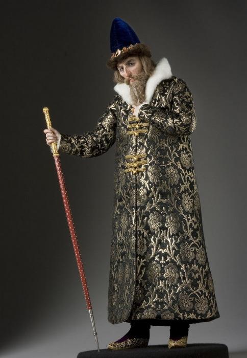 Иван IV Васильевич Грозный (1530–1584 гг.) – великий князь московский с 1533 года, первый венчанный на царство (1547 г.) русский царь. Автор: George Stuart.