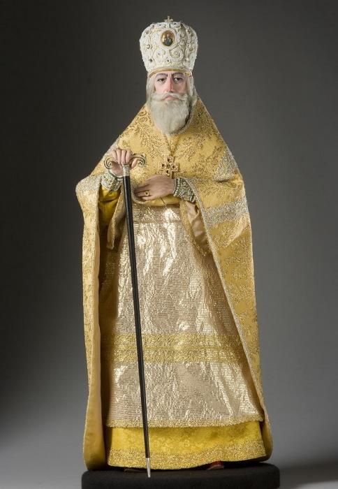 Патриарх Филарет (в миру Федор Никитич Романов) (ок. 1554/1555–1633 гг.), отец Михаила Романова. Автор: George Stuart.