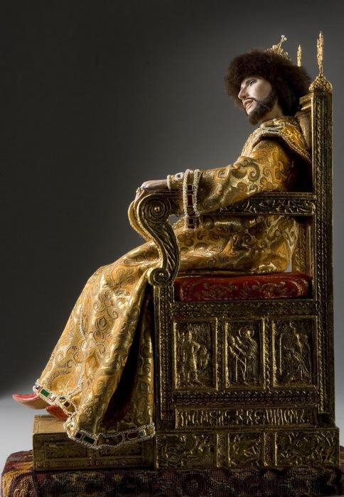 Иван V Алексеевич, русский царь в 1682-1696 годы. Автор: George Stuart.