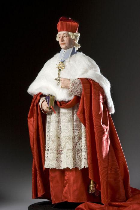 Его Высокопреосвященство кардинал Луи Рене Эдуард де Роган-Гемене. Автор: George Stuart.
