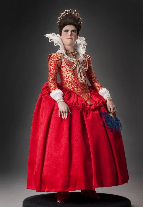 Елизавета или Эржебет Батори из Эчеда (1560 — 1614 гг.). Автор: George Stuart.
