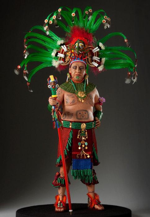 Принц племени Майя. Автор: George Stuart.