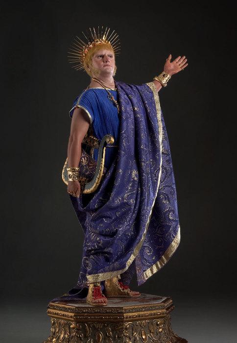 Нерон Клавдий Цезарь Август Германик (37 — 68 гг.). Автор: George Stuart.