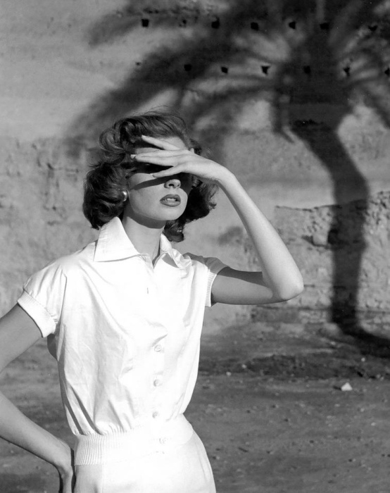 Пальмы. Автор: Georges Dambier.