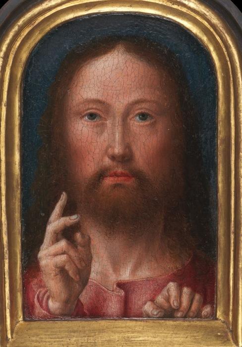 Благословение Христа. Автор: Gerard David.