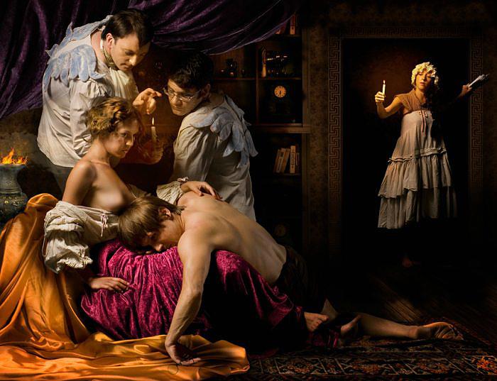 Весь мир — театр, а люди в нём — актёры… Автор работ: Гергана Змиичарова (Gergana Zmiicharova).