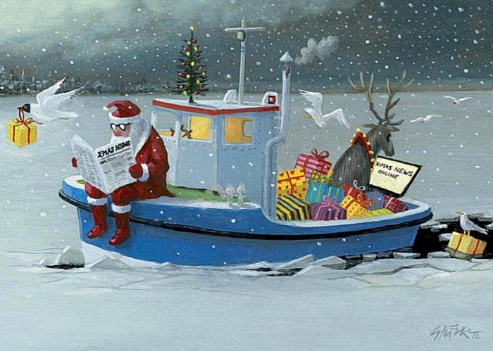 Рождественские вести. Автор: Gerhard Gluck.