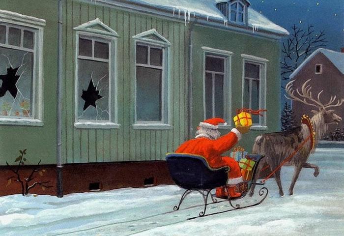 Получите свой подарок! Рождественские вести.