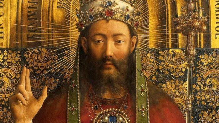 Деталь: Гентский алтарь (открыт), Ян ван Эйк, 1432 год. \ Фото: mobile.twitter.com.