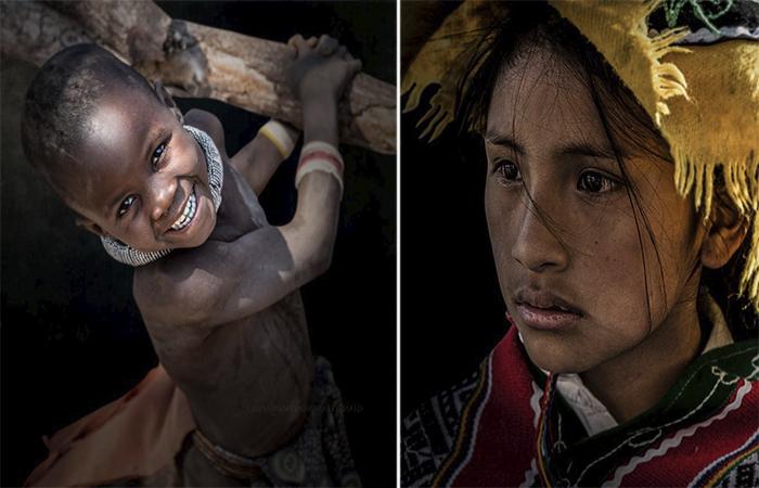 Портреты людей со всего мира. Автор: GianStefano Fontana.