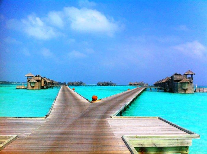 Гили Ланкафуши на Мальдивах: на перекрёстке дорог.