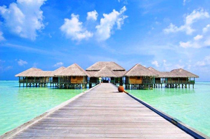Гили Ланкафуши на Мальдивах: свежий воздух, море, мечты.
