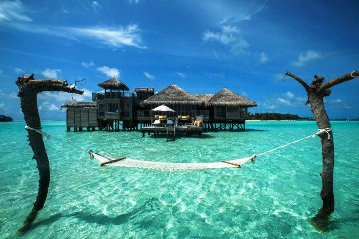 Гили Ланкафуши на Мальдивах – лучшее место для признания в любви.