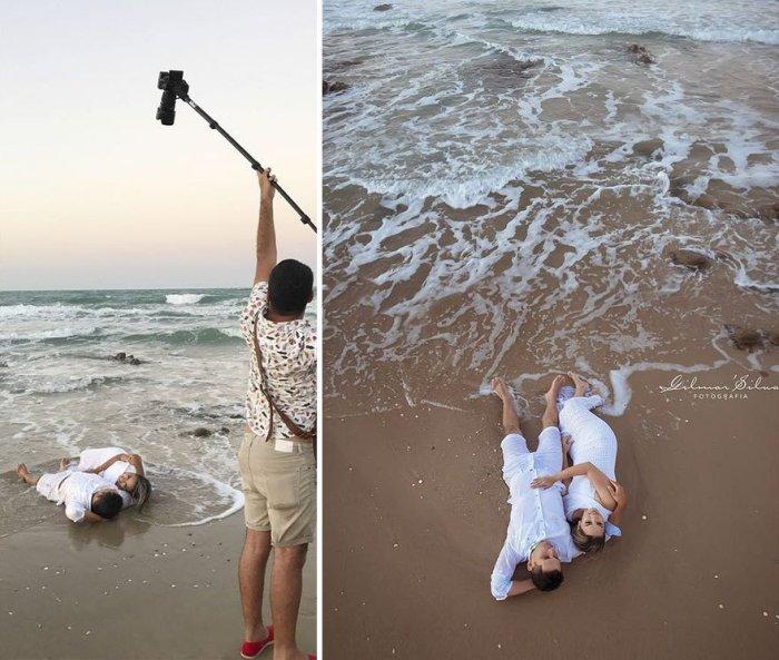На берегу моря, где ласковые пенные волны. Автор: Gilmar Silva.