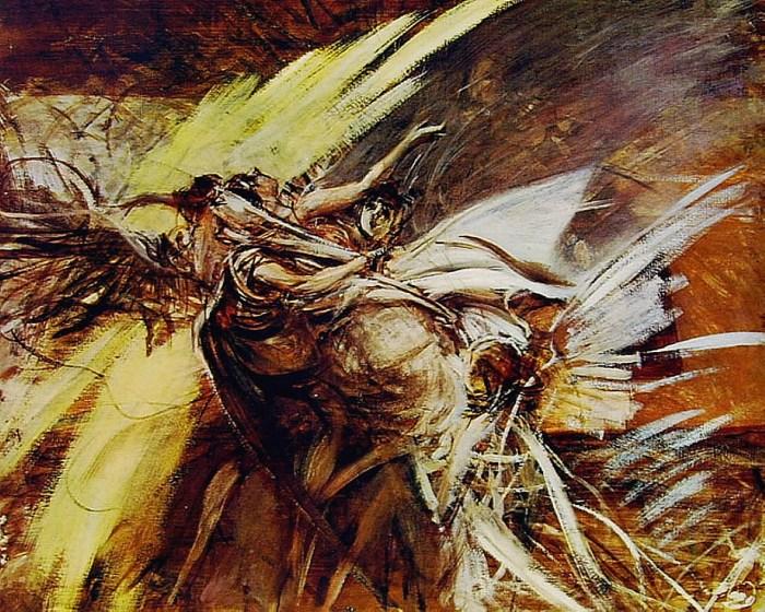 Ангелы. Автор: Giovanni Boldini.
